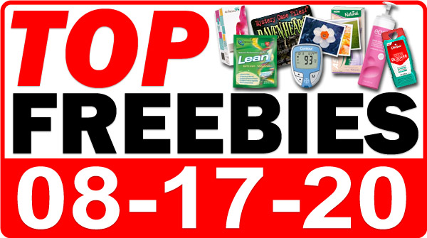 Top Freebies for August 17, 2020