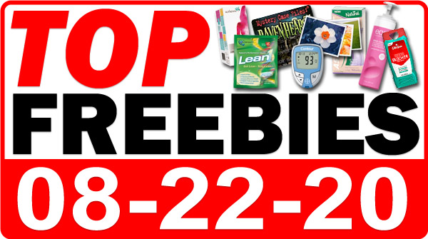 Top Freebies for August 22, 2020