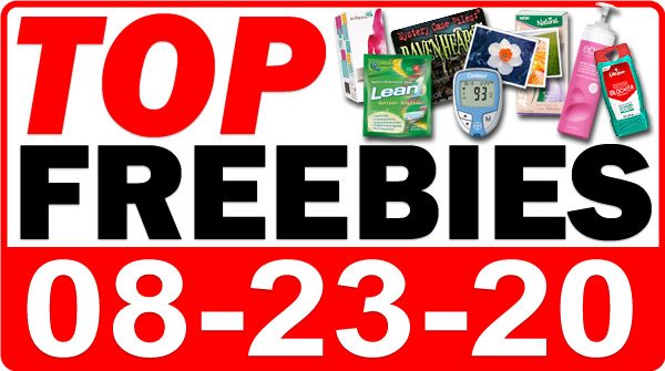 Top Freebies for August 23, 2020