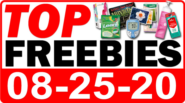 Top Freebies for August 25, 2020