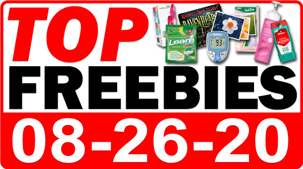 Top Freebies for August 26, 2020