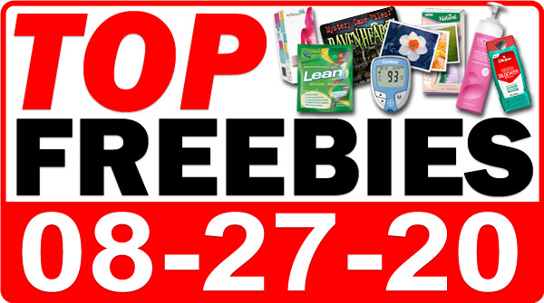 Top Freebies for August 27, 2020
