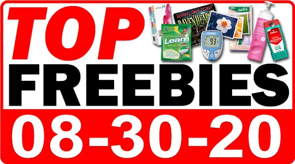 Top Freebies for August 30, 2020