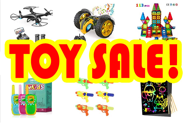 HUGE TOY SALE! AMAZING PRICES!