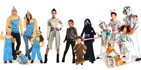 Costume Collections for the Whole Family – Even the DOG! PLUS Get 30% OFF On-Line!