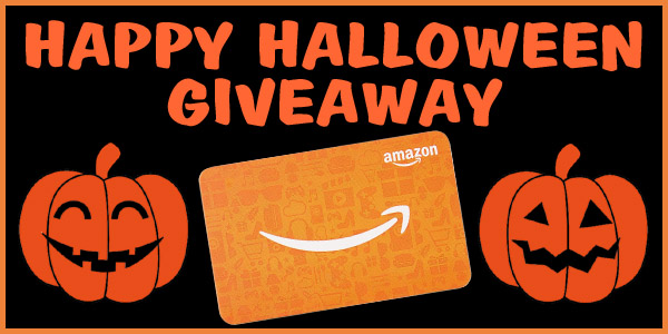 Happy Halloween Giveaway! Win a FREE $50 Amazon Gift Card