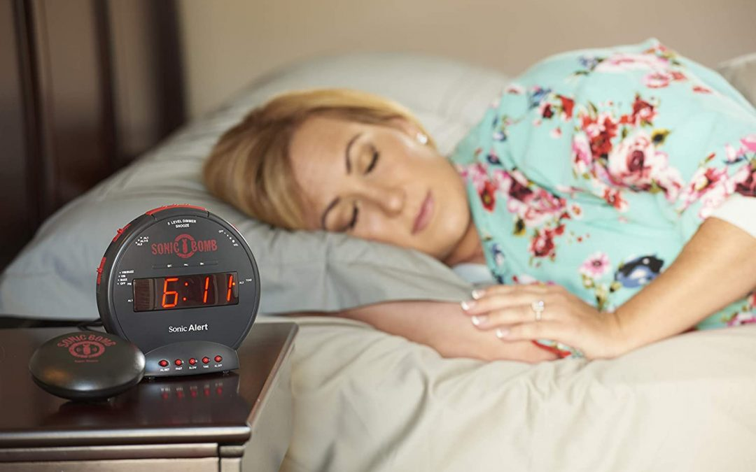Wake Up with the LOUDEST Alarm Clock that even has a Bed Shaker!