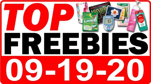 FREE CBD + MORE Top Freebies for September 19, 2020