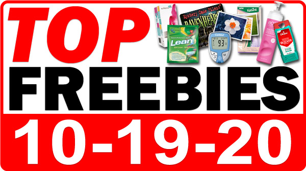 FREECBD Face Mask + MORE Top Freebies for October 19, 2020