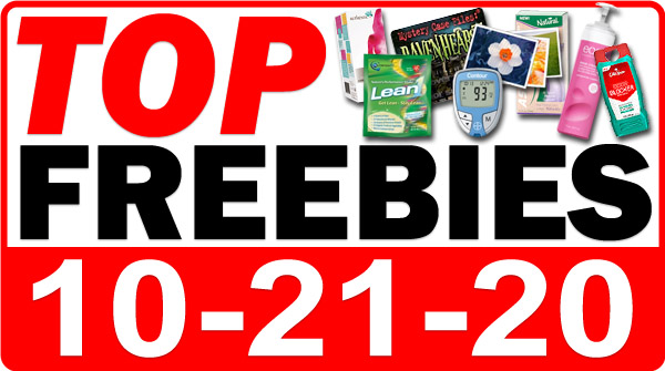 FREE Sample Boxes + MORE Top Freebies for October 21, 2020