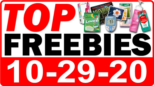 FREE Pain Cream + MORE Top Freebies for October 29, 2020