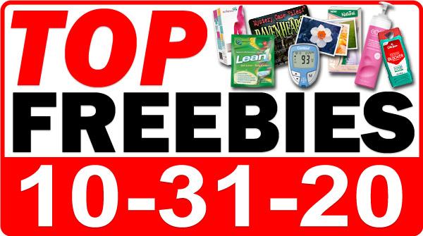 HALLOWEEN FREEBIES + MORE Top Freebies for October 31, 2020