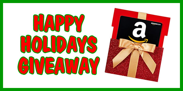 Happy Holidays Giveaway! Win a FREE $50 Amazon Gift Card Ends 12/30/20