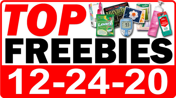 FREE Recipe Book + MORE Top Freebies for December 24, 2020