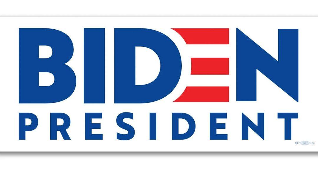 FREE Biden President Sticker