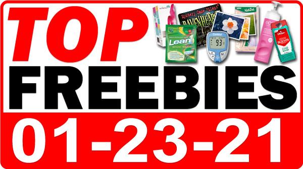 FREE Dog Treats + MORE Top Freebies for January 23, 2021