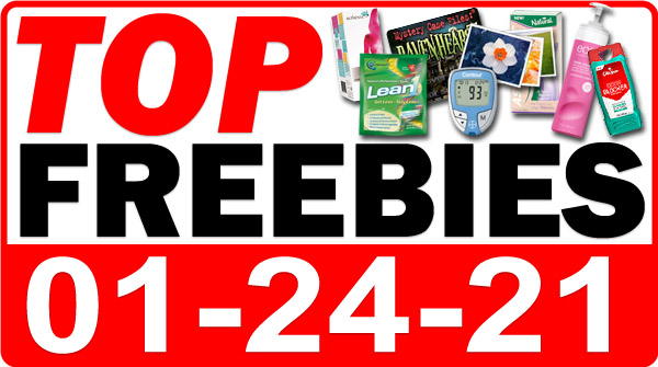 FREE Vitamins + MORE Top Freebies for January 24, 2021