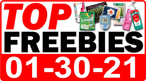 FREE Probiotic Drinks + MORE Top Freebies for January 30, 2021