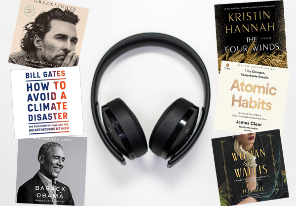 Here's How to Listen to TWO Best Selling Books for FREE