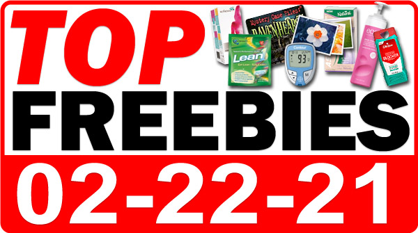 FREE Hair Care + MORE Top Freebies for February 22, 2021