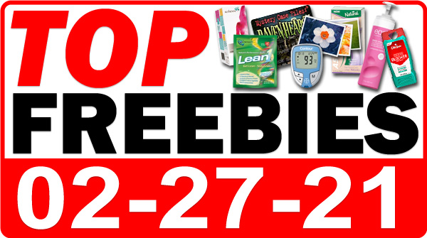 FREE Vitamins + MORE Top Freebies for February 27, 2021