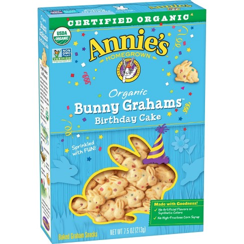Walmart Has a FREE Box of Annie's Organic Bunny Grahams Birthday Cake For You!
