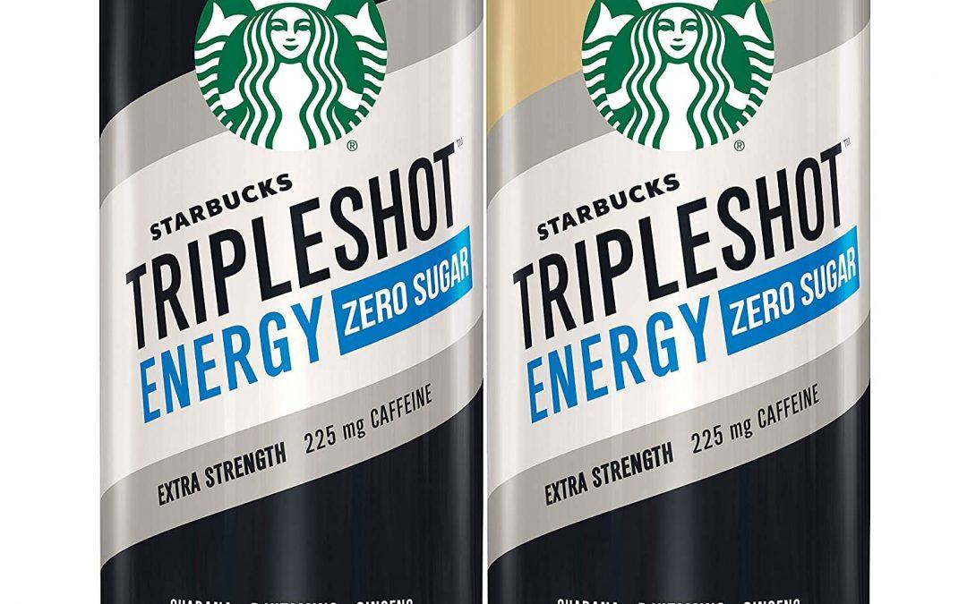 Score a FREE Starbucks TripleShot Zero at Walmart