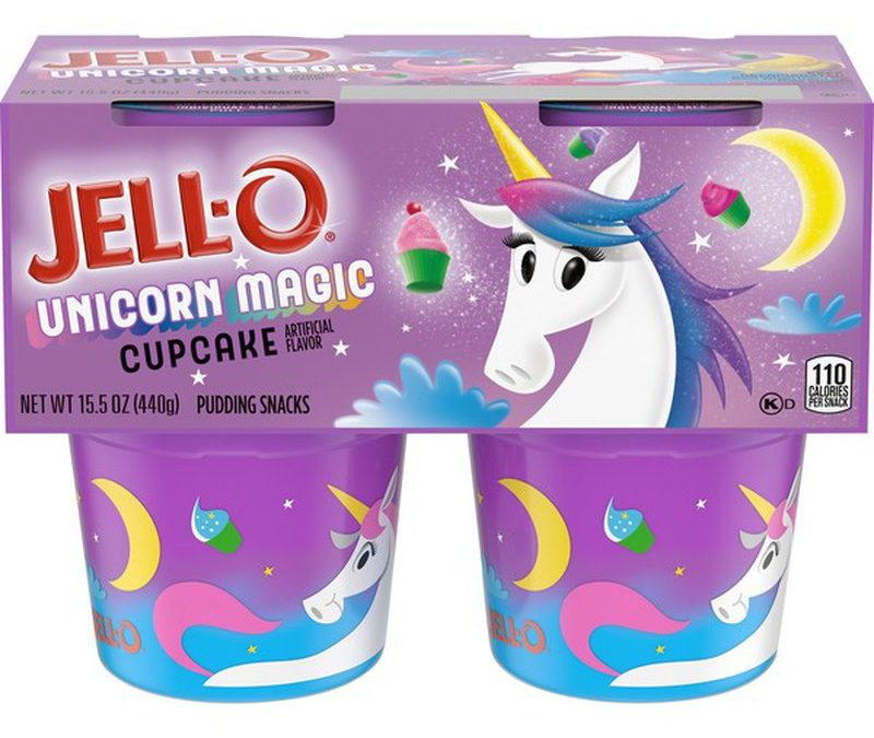 FREE Jell-O Unicorn Magic Cupcake Pudding!