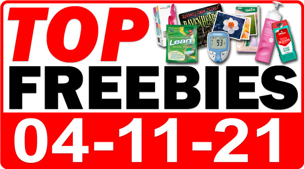 FREE Hand Sanitizer + MORE Top Freebies for April 11, 2021
