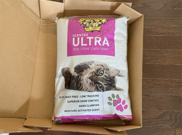 Shipped FREE >>> FREE Full Size 40 lb Bag of Kitty Litter from Dr. Elsey's – $20 Value!