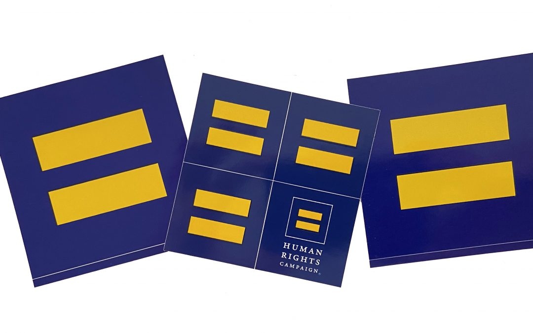 🏳️🌈 Request a FREE HRC Equality Sticker