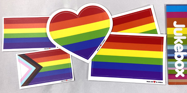 🏳️🌈 Celebrate Pride Month With a FREE Sticker Pack