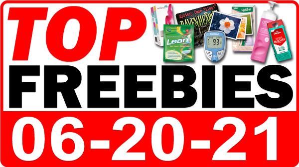 FREE Prebiotic Bars + MORE Top Freebies for June 20, 2021