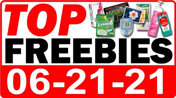 FREE Lip Gloss + MORE Top Freebies for June 21, 2021