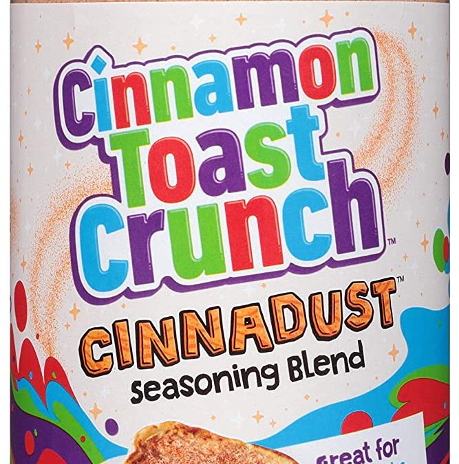 TWO FREE Cinnamon Toast Crunch Cinnadust Seasoning Blend