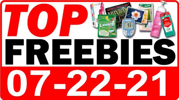 FREE Hemp Oil + MORE Top Freebies for July 22, 2021