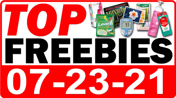 FREE Protein Bar + MORE Top Freebies for July 23, 2021