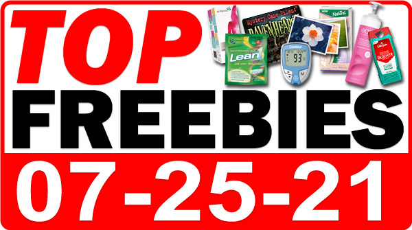 Top Freebies for July 25, 2021