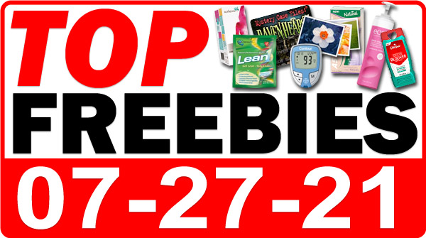 FREE Cheese Straws + MORE Top Freebies for July 27, 2021