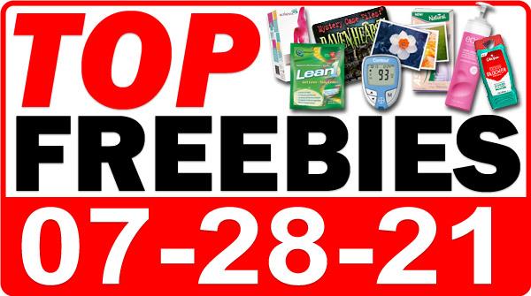 FREE Argan Oil + MORE Top Freebies for July 28, 2021
