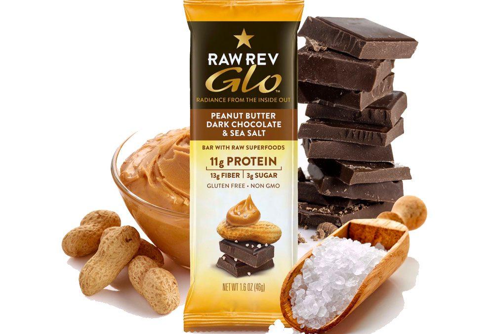 ~ YUMMY ~ FREE GLO Peanut Butter, Dark Chocolate & Sea Salt Bar