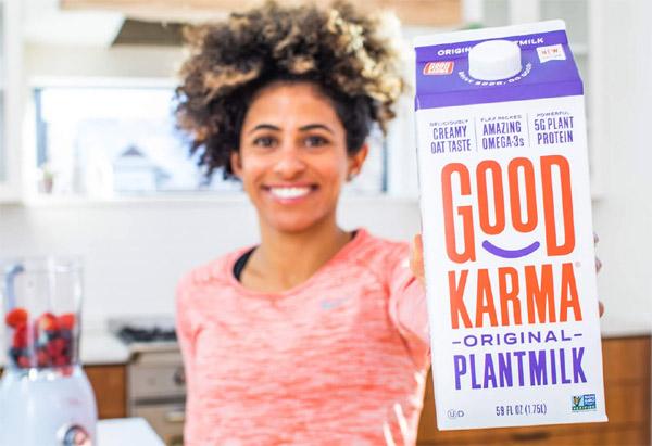 Try Good Karma Plantmilk for FREE!