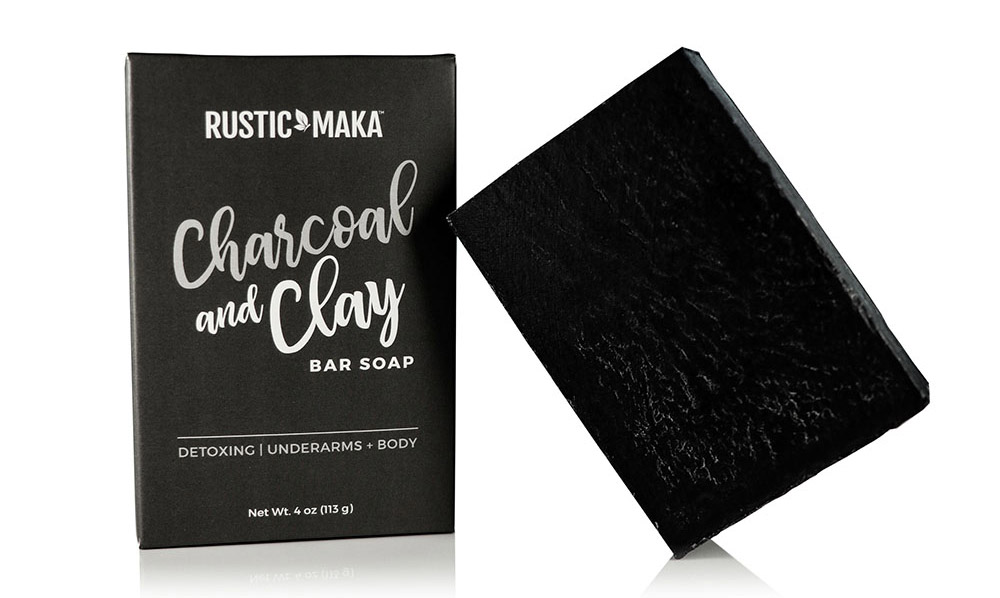 Try This Mineral-Rich Rustic MAKA Charcoal and Clay Bar Soap for FREE