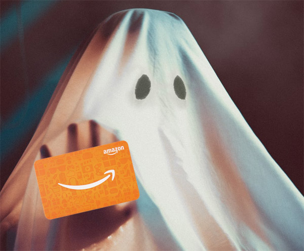 Ghoulish, Ghostly Gift Card Giveaway for Halloween!