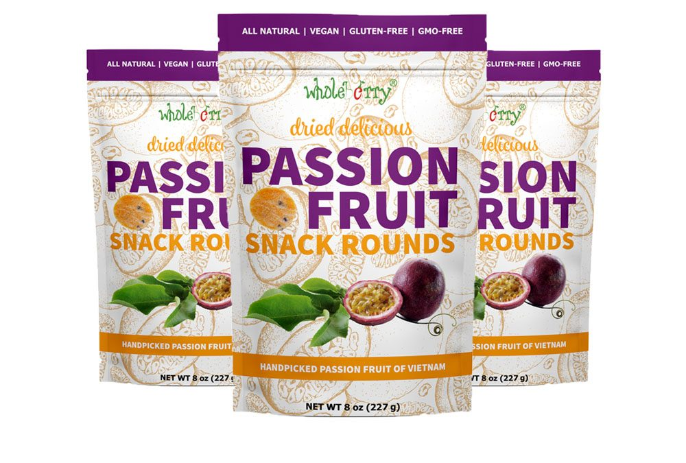 TRY IT FREE > Vegan Wholeberry Passion Fruit Snack Rounds!