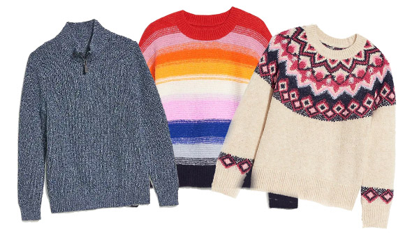 Get Ready for Sweater Weather with This FREEbie from Old Navy!