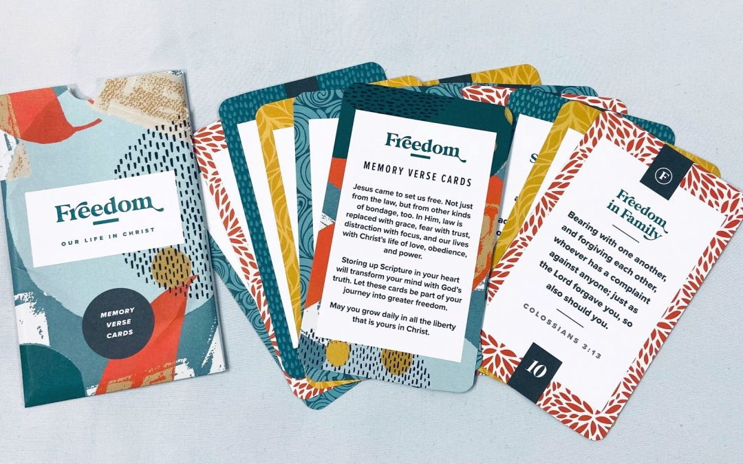 Request Your FREE Set >>> Freedom: Memory Verse Cards