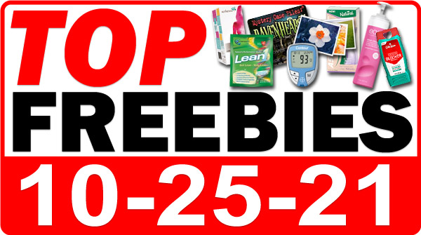 FREE Energy Chew + MORE Top Freebies for October 25, 2021
